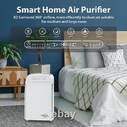 Accueil Grande Chambre Purificateur D'air H13 Medical Hepa Air Cleaner For Allergies Pet Odor