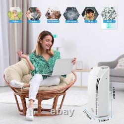 Accueil Hepa Air Purifier Grand Air Cleaner Chambre Pour Les Allergies Fumeur Pet Poussière