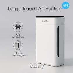 Accueil Intérieur Hepa Filtre Purificateur Air Bureau Chambre À Coucher Filtres Allergies