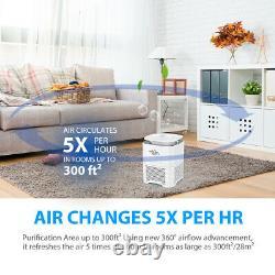 Air Purificateurs H13 Hepa Filtre Pour Allergies Domestiques Animaux Fumeurs De Cheveux Dans Le Salon