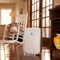 Alexapure Breeze Energy Hepa Efficace + Ioncluster Système De Purification D'air