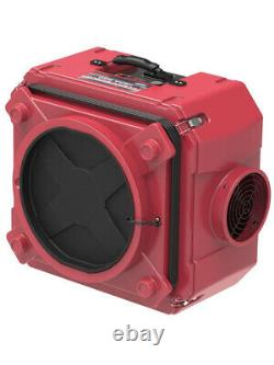 Alorair Cleanshield Hepa 550 Industrial Commercial Air Scrubber, Red Brand Nouveau