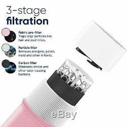 Blueair Pure Blue 411 Purificateur D'air Pour La Maison 3 Scène Avec Pré-filtre Lavable, Pa