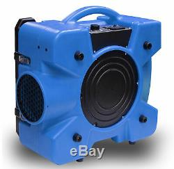 Bluedri Air Shield 550 Hepa Air Scrubber Bleu