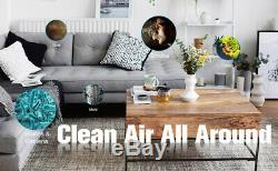 Cleaner Purificateur D'air Hepa Filtre Fumée Eater Poussière Supprimer Home Office Odeur