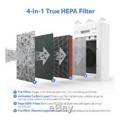 Climatik Purificateur D'air 4 En 1 Filtre Hepa (anti-allergène) Et 1 An De Garantie