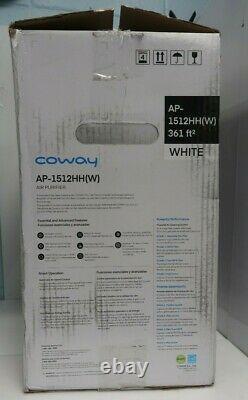 Coway Ap-1512hh Hepa Air Purificateur Avec Mode Eco, Blanc