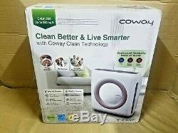 Coway Ap-1512hh (blanc) Puissant Purificateur D'air Avec Filtre Hepa Et Le Mode Eco