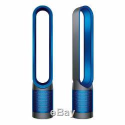 Dyson Cool Pur Purificateur Fan Fer / Bleu Marque Nouveau + Filtre Hepa Supplémentaire