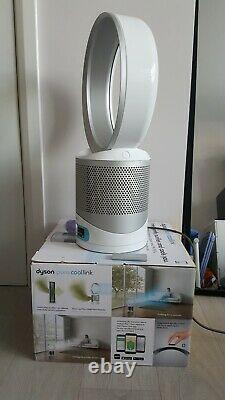 Dyson Dp01 Pure Cool Link Purifiant Ventilateur De Bureau Avec Télécommande Hepa Filter