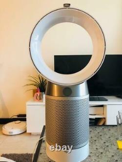 Dyson Dp04 Pur Pur Purificateur D'air Cool & Fan Desk Blanc/argent