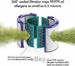 Dyson Hot + Hp04 Pur Refroidir Purificateur D'air, Chauffage / Ventilateur-hepa Filtre À Air, Chaufferette