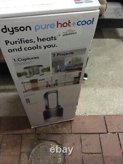 Dyson Hot + Pur Cool, Hepa Hp01 Purificateur D'air, L'espace De Chauffage Et Ventilateur Blanc / Argent