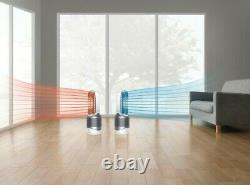 Dyson Hp01 Pure Hot & Cool Hepa Purifiant Heater Fan White/silver New Sealed
