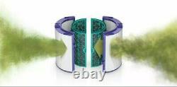 Dyson Pure Cool Dp04 Eventail Purifiant Compatible Wi-fi (blanc/argent) Nouveauté