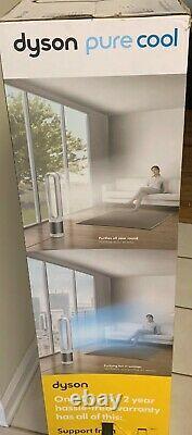 Dyson Pure Cool Tp01 Hepa Purificateur D'air Et Ventilateur Grandes Chambres Blanc/argent W Télécommande