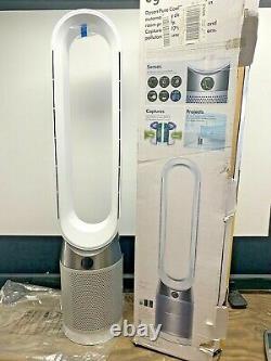 Dyson Pure Cool Tp04 Hepa Air Purificateur Et Tower Fan White/silver (no Heat)