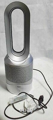 Dyson Pure Hot + Cool, Hp01 Hepa Air Purificateur, Space Heater & Fan White/silver