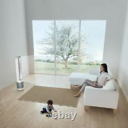 Dyson Tp01 Pure Cool Tower 800 Sq. Ft. Hepa Air Purificateur Et Fan White/si