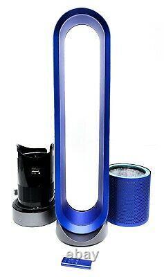 Dyson Tp02 Pure Cool Link Tower 800 Sq. Ft. Purificateur D'air Bleu De Fer