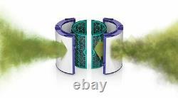 Dyson Tp04 Pure Cool Tower 800 Sq. Ft. Purificateur D'air Blanc/argent