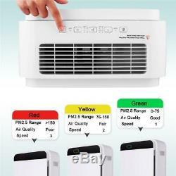 Filtre À Air Hepa Purificateur Grand Filtre À Air Frais Chambre Améliorer La Qualité De L'air Intérieur