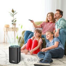 Filtre Hepa Grand Purificateur D'air De Pièce Pour Des Allergies D'animal Familier Élimineur D'odeur De Poussière De Fumée