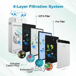 Filtre Hepa Purificateur D'air Ambiant Fresh Air Cleaner 100% Gratuit Ozone, Carb Certifié
