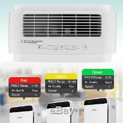 Filtre Hepa Purificateur D'air Frais Grande Chambre Cleaner Air Car Home Office & Chambre