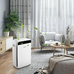 Filtre Hepa Purificateur D'air Grand Nettoyeur Chambre D'air Frais Pour La Voiture Home Office Wst S