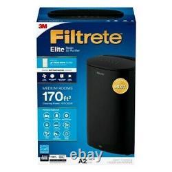 Filtrete Elite Purificateur D'air À 3 Vitesses 170 Pieds Carrés True Hepa Energy Star Fap-co2-a2