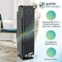 Germ Guardian Vrai Filtre Hepa Purificateur D'air Pour La Maison, Bureau, Grande Chambre, Filtre