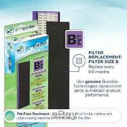 Germguardian Ac4300wpt 5in1 Air Purifiant Système Avec Pet Pur Vrai Filtre Hepa