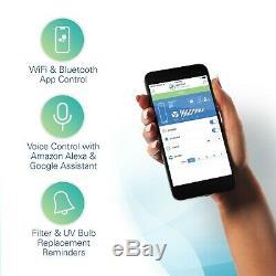 Germguardian Cdap4500wca Smart Wifi 4-en-1 Purificateur D'air Avec Filtre Hepa, Uvc