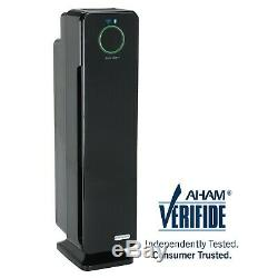 Germguardian Cdap5500bca Smart Wifi 4-en-1 Purificateur D'air Avec Filtre Hepa, Uv
