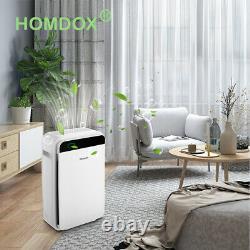 Grand Purificateur D'air De Chambre Bureau Air Cleaner Hepa Filtre Supprimer Odor Dust Mold