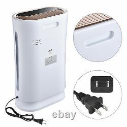 Grande Chambre 4 En 1 Purificateur D'air Avec Filtre Hepa Uv-c Sanitizer Supprimer La Poussière D'odeur