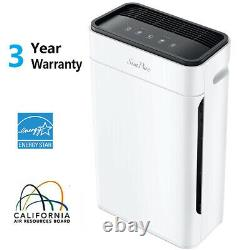 Grande Chambre Air Purifier Accueil Médicale Hepa Air Cleaner Allergies Odor Eliminator