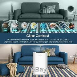 Grande Chambre Purificateur D'air Hepa Cleaner Filtre Supprimer Odeur Moisissure Poussière Home Office