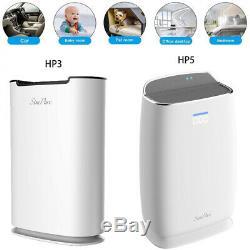 Grande Maison Purificateur D'air Hepa H13 Filtre, Mode Silencieux Allergies Cleaner Air
