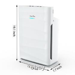 H13 Hepa Purificateurs D'air Pour La Maison Grand Air Cleaner Chambre Pour Les Allergies De Fumée 24db