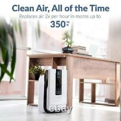Hathaspace Smart True Hepa Air Purificateur, 5-en-1 Nettoyeur D'air Grande Pièce & Deodori
