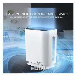 Hepa 6-stufen Ionisator Pollenfilter Aktivkohle Luftreiniger 50 M³