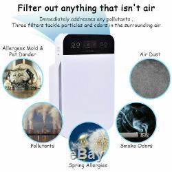Hepa Filtre À Air Purificateur Filtre À Particules De Carbone Filtre Supprimer Odeur De Poussière Mold Us