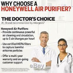 Hepa Honeywell Purificateur D'air True Avec Allergène (blackallergen Remover)