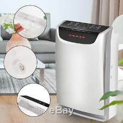 Hepa Purificateur D'air Puissant Filtre À Air Filtre Silencieux À Éliminer La Fumée De Poussière Les Bactéries