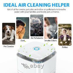 Home Room Air Purificateurs True Hepa Filtre Air Cleaner Odeur Allergies Moule Remover