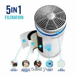 Homedics 5 Dans 1 Totalclean Purificateur D'air Hepa + Uv Allergy Filtration Ap-t20