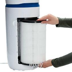 Homedics Total Nettoyant 5-en-1 Purificateur D'air/cleaner True Hepa Filtre 17.2m2 Medium