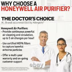 Honeywell Hepa Allergen Remover Air Purificateur D'air (hpa-300) Black Livraison Gratuite